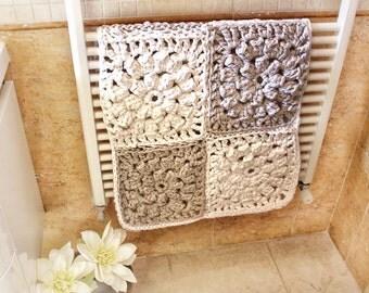 Crocheted Bath Mat Etsy