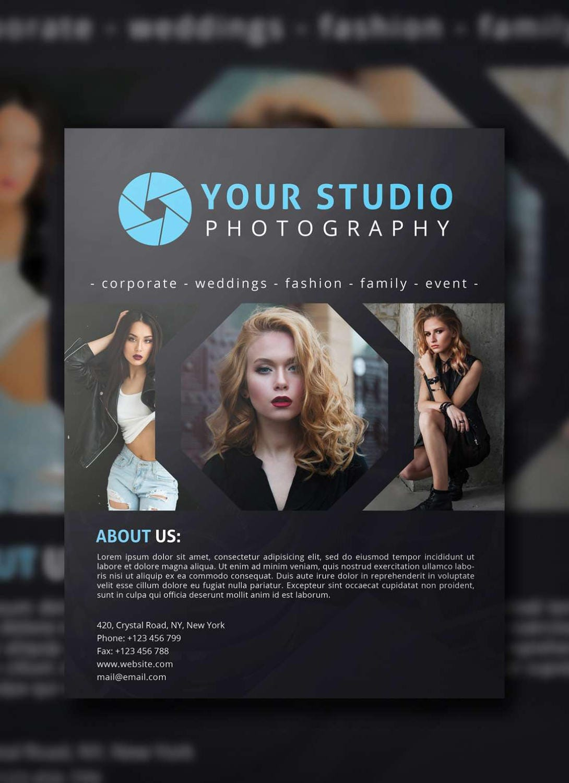 Photography Flyer PSD Template, Photographer Flyer, Flyer Template ...