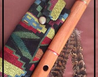 Quena Flute Case, OOAK, Andean Flute Case