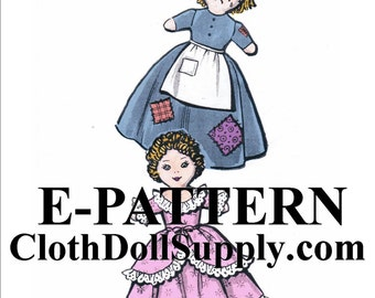 E-Pattern – Cinderella Upside Down Doll Sewing Pattern #EP 2437