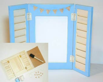 DIY Shutter Picture Frame (by heARTmade GIFTs)