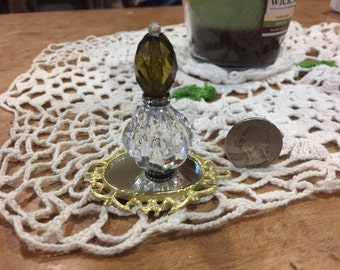 Miniature Perfume Bottle,Big Miniature Perfume Bottle, Miniature Liquor Bottle, Dollhouse Miniature, Miniature Collection