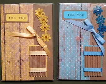 For You. Handmade greeting card for any occasion.