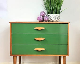 Sold * Sold Mid Century Chest of Draws