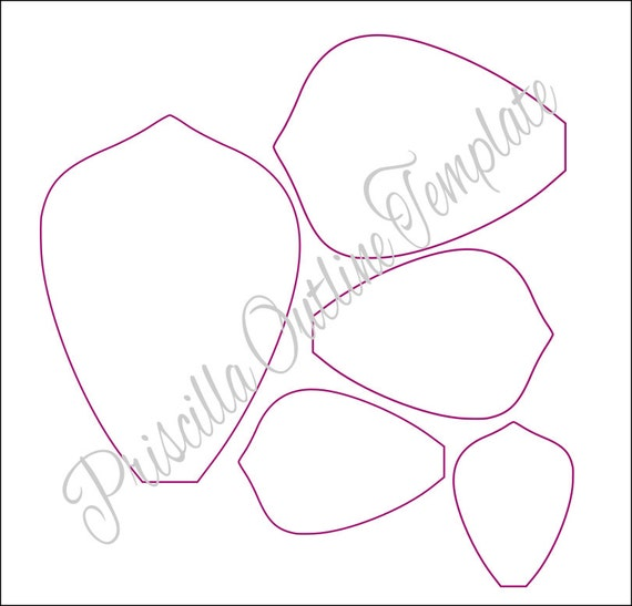Giant paper flowers giant paper flower templates for Free printable paper flower templates