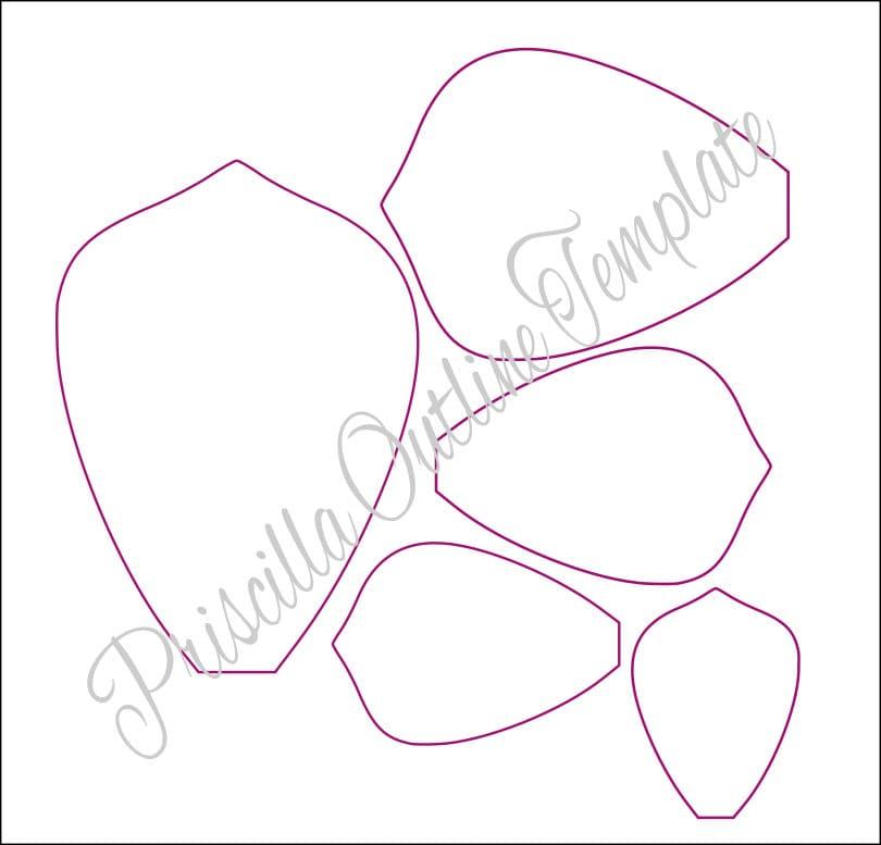Instrucciones plantillas de flores para imprimir pared de - Plantillas pared ...