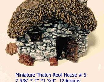 Miniature 3D Fairy House in  Hydrostone
