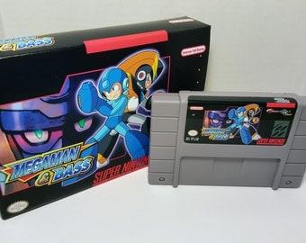 Mega Man & Bass - English SNES Translation NTSC