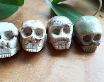 Light Carved Skull