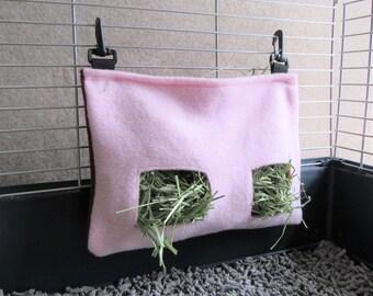 Clip-on Guinea Pig Hay Bag