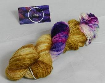 Handdyed Merino Singles Yarn