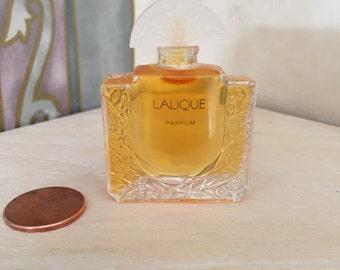 Vintage Lalique Miniature Parfum