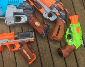 DIY Leather Nerf Grips: Made to Order