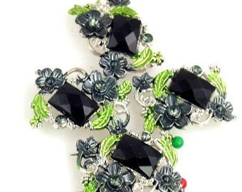 4 2 hole slider beads 9891-R1