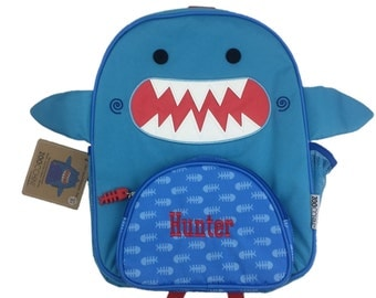 Personalised Shark Toddler Backpack