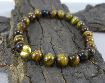 Buddha bracelet and Tiger's eye
