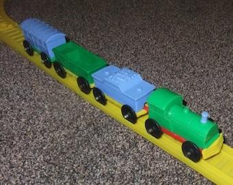 Mettoy/Playcraft plastic vintage c1970s train layout
