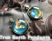 True Earth pendants! Show the whole world you're woke af with this stylish necklace in silver or bronze!