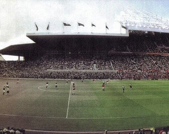 NEW Manchester United Old Trafford Through the Years Canvas