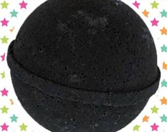 Black velvet Bath bomb LARGE! 4.5oz