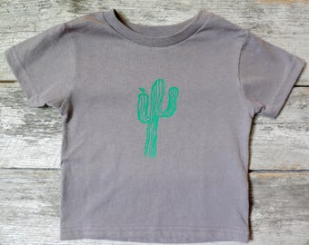 Cactus Crew Neck T-shirt