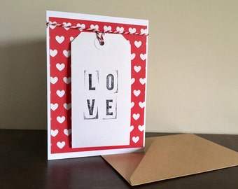 Valentines Card, Anniversary Card, Wedding Card, Wife Card, Husband Card, Cards For Men, Cards For Women, Printing Block, Personalised Card