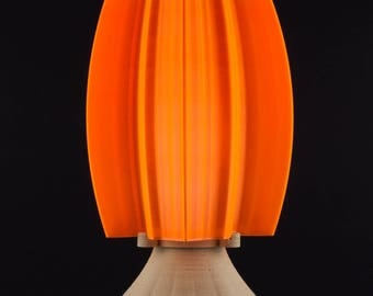 Orange maple leaf lamp