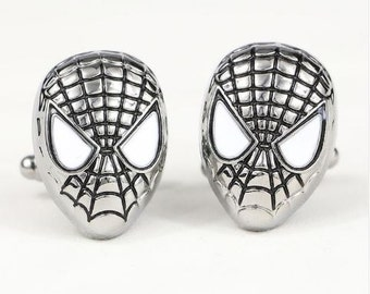 Spiderman Cufflinks-B22