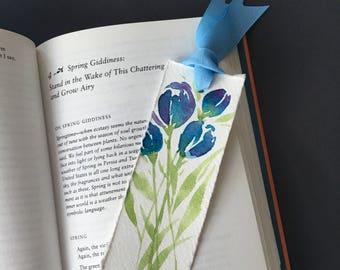 Handpainted watercolor bookmarks