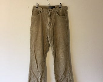 90's Light Corduroy Pants (32)