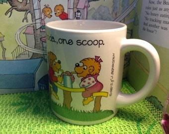1987 Berenstain Bear Mug