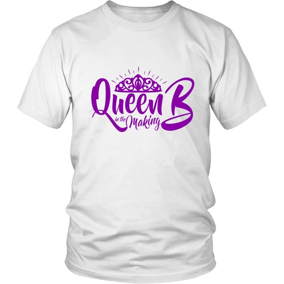 Queen B In The Making Purple Shirts Unisex Shirt Best Gift Ideas