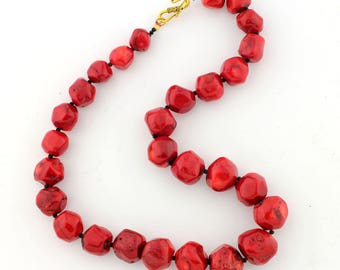 Red Coral Necklace KC4655