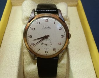Vintage EXACTO watch 17 jewels antimagnetic swiss made