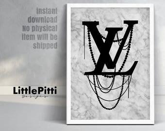 Louis vuitton, louis vuitton logo, LV, vuitton poster, marble prints, lv print, louis vuitton prints, vuitton art print, vuitton logo poster