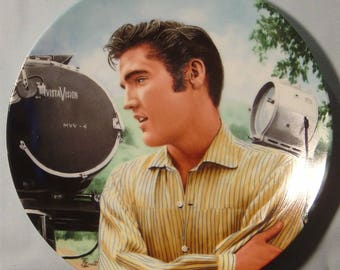 "Elvis Presley 'Looking at a Legend' ""Elvis in Hollywood"" Collector's Plate - NIB"