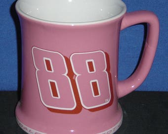 NARCAR #88 Pink Fan 11oz Ceramic Mug - NEW