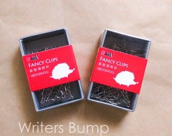 Fancy Clips - Hedgehog, Cat, and Flying Squirrel