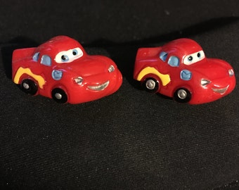 Cars Lightening McQueen Studs   K25