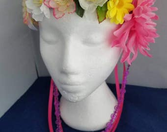 Floral Crown - Wear Two Ways Made to Order