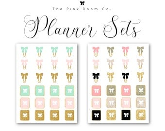 PLANNER SET Planner Stickers