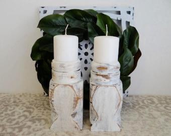 White Candlesticks