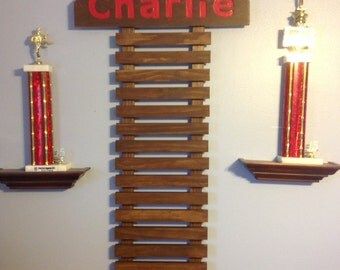 Martial Arts Display for 8 Belts & choice of 8 colors