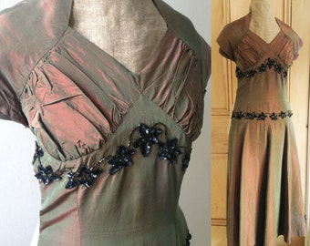 Vintage 1940s 1950s evening dress Gown Party 'Lindy Gay dresses, London'