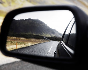 Road Print - Road Digital Print - Highway Photo - Road Trip Photo - Reflection Print - Digital Photo - Instant Download - Digital Download