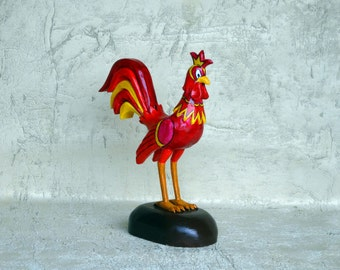Red rooster, Red rooster wood