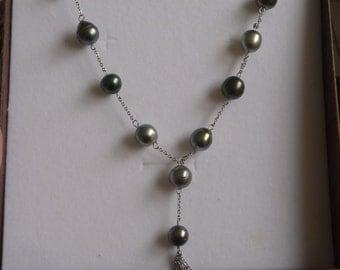 string of pearls of tahiti