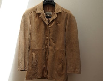 70s Brown Suede Jacket