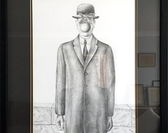Son of Man Reproduction by René Magritte