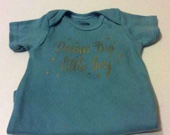 Dream Big Little Boy Onesie